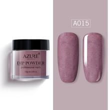 Azure Beauty Matte Effect Dipping Powder Newest Shiny Glitter  Nail Dip Top Coat Gradient Color