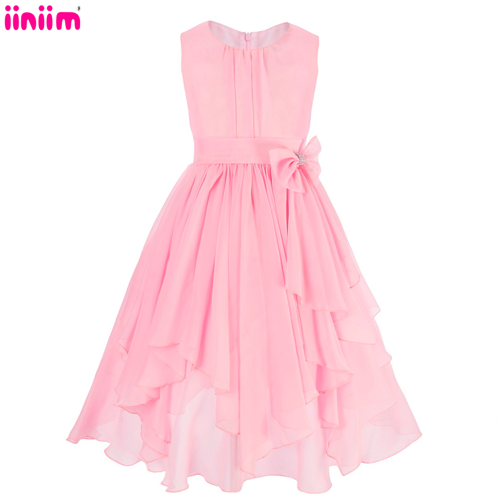 Online get cheap long tutu bridesmaid dresses aliexpress flower girl wedding dress fluffy ball gown usa birthday evening prom cloth pink tutu tulle baby bridesmaid long party dress ombrellifo Choice Image