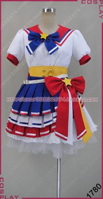 Collection! Anime Puripara Minami Mirei Rara Torres Sophie Todoshi Leona Hibiki SJ uniform Full set cosplay costume New freeship