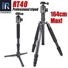 Профессиональный дорожный штатив RT40, монопод, компактная алюминиевая подставка для камеры DSLR, улучшенная версия E306, лучше, чем Q999 Q999S