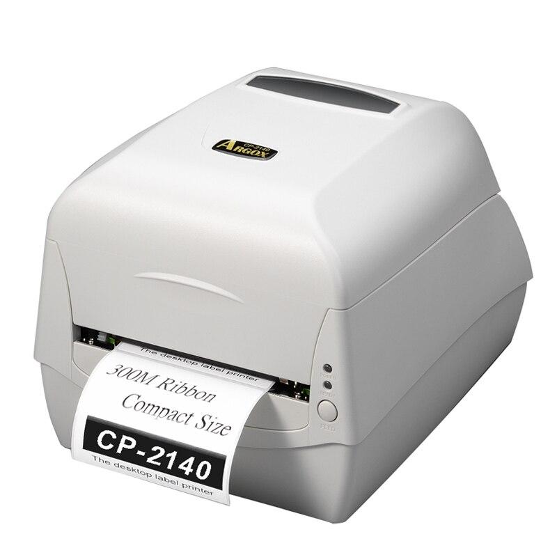 Argox CP-2140M blanc Code À Barres imprimante à transfert autocollant imprimante machine 104mm d'impression d'étiquettes, bijoux étiquette, prix tag sur T-shirt