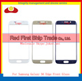 "Оригинал 5.1 ""для Samsung Galaxy S6 Edge G925 SM-G925V Передняя Внешний Экран Стекло Передний Экран Внешний Стеклянный Объектив Белого Золота Синий"