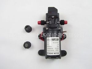 Image 5 - DC 12V 130PSI 6L/Min Water High Pressure Diaphragm Water Pump Self Priming Pump Automatic Switch 72W