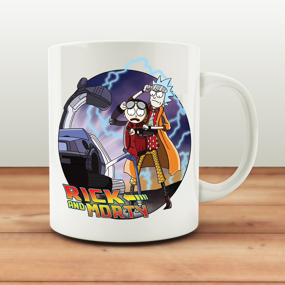 Rick and Morty mugs Back to the Future mugs Tea gifts coffee mug ceramic novelty friend gifts