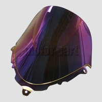 Windscreen For 1998-2008 Suzuki GSX600F GSX750F GSX 600 750 F Katana Motorcycle Windshield Clear Iridium 99 01 02 03 06 07