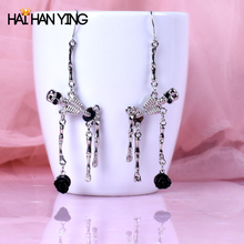 Fashion For Women Individuality Earrings Halloween Party Gifts Drop Alloy Jewelry Skull earrings 2019 NEW Particular