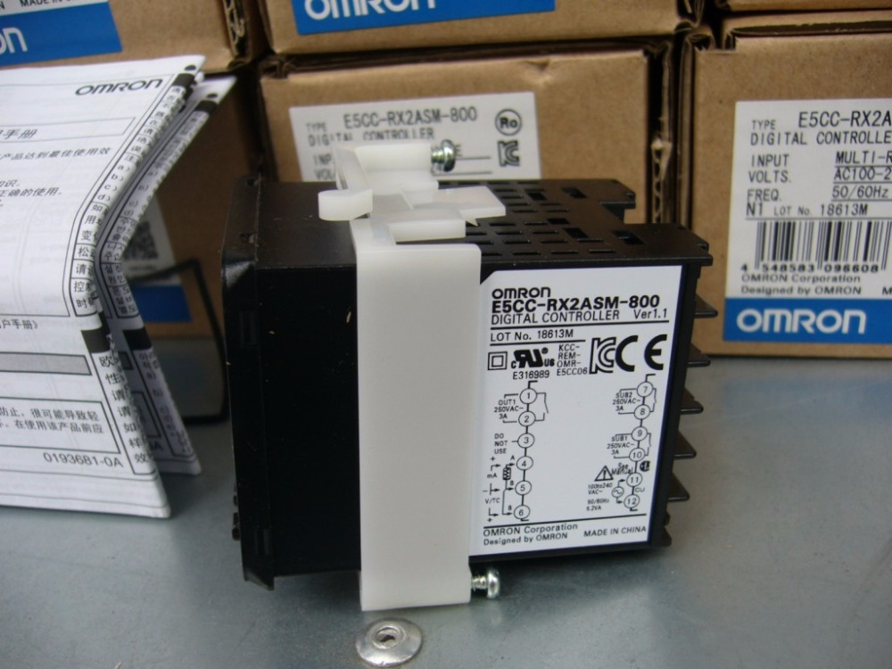 E5CC-RX2ASM-800 Original New Temperature Controller E5CCRX2ASM800 E5CC RX2ASM 800 купить недорого в Москве