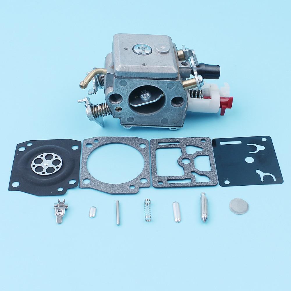 Carburetor w  Repair Rebuild Kit For Husqvarna 340 345 346XP 350 351 353 E EPA Chainsaw Egine Motor 503283208 Zama C3-EL18B