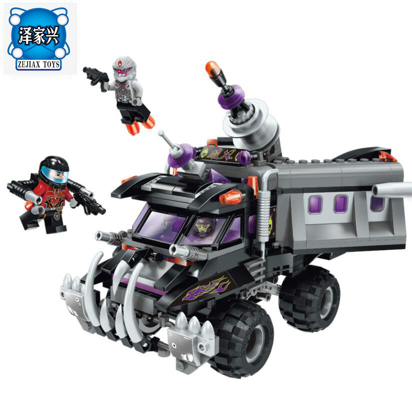 2017 New Enlighten Space Series Cannon Truck Building Block Sets Bricks Toys Gifts for Children Compatible Legoing 2017 enlighten city series garbage truck car building block sets bricks toys gift for children compatible with lepin