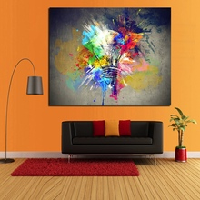 Best Wall Art Pictures Canvas Light Colorful oil Painting Large Abstract Handmade Oil for Living Room Bedroom Decor