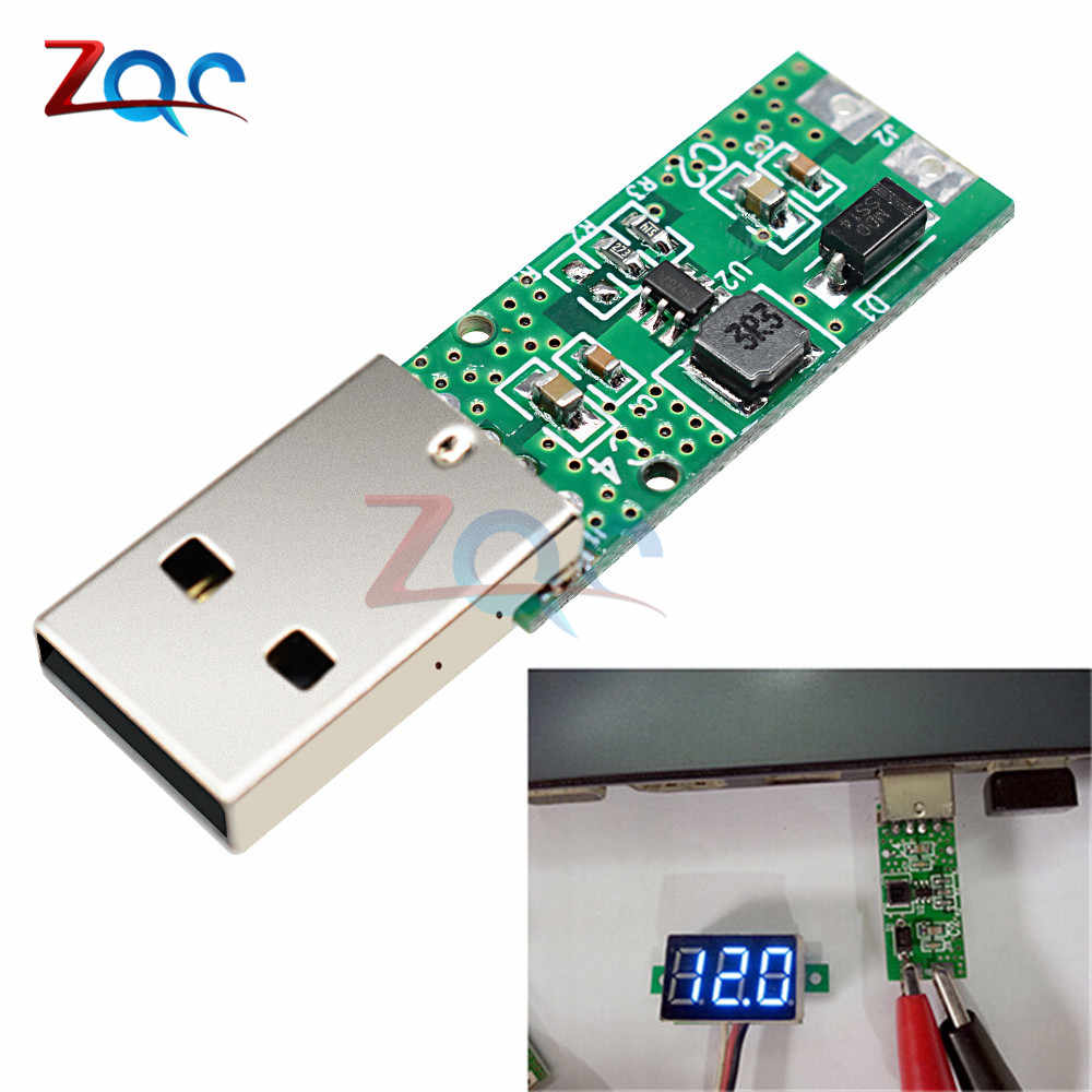 DC-DC 5V à 12V 5W USB Module d'alimentation amplificateur convertisseur carte de tension 4.2 V-5.2 V