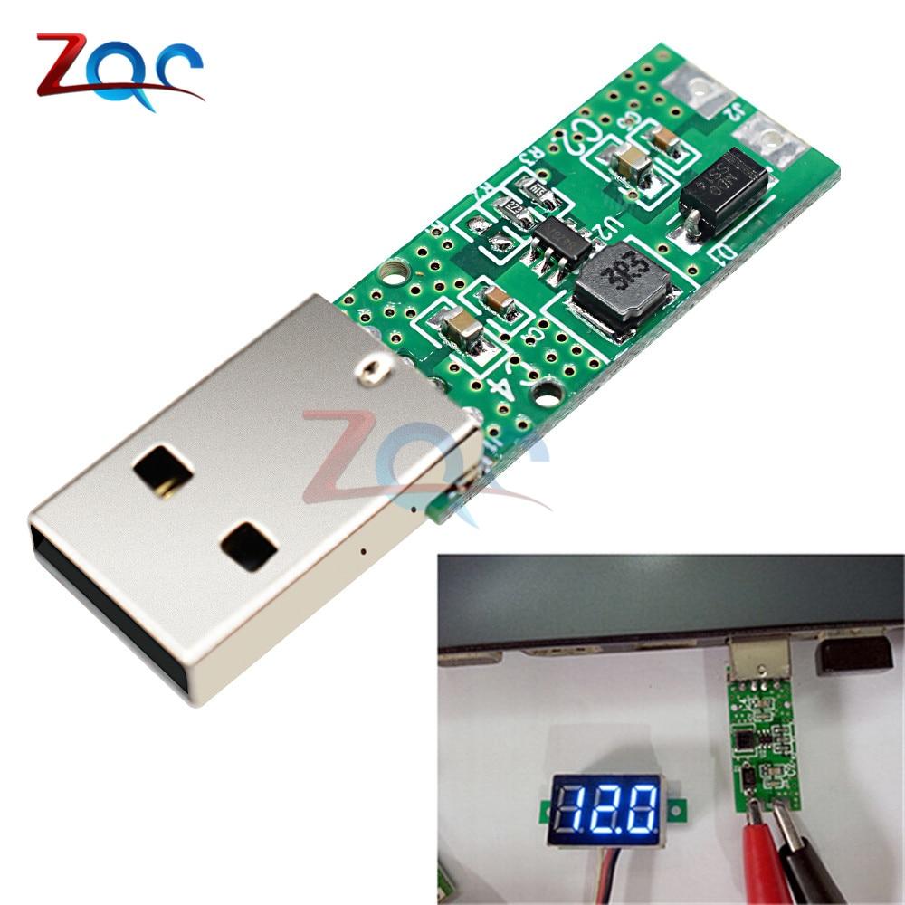 DC-DC 5V to 12V 5W USB Step Up Power Supply Module Boost Converter Voltage Board 4.2V-5.2V wholesale 1pcs dc dc step up converter boost 2a power supply module in 2v 24v to out 5v 28v adjustable regulator board dropship