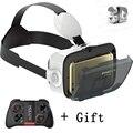 Bobovr z4 mini google cartón 3d casco de realidad virtual vr vr gafas caja con control de bluetooth ratón inalámbrico gamepad