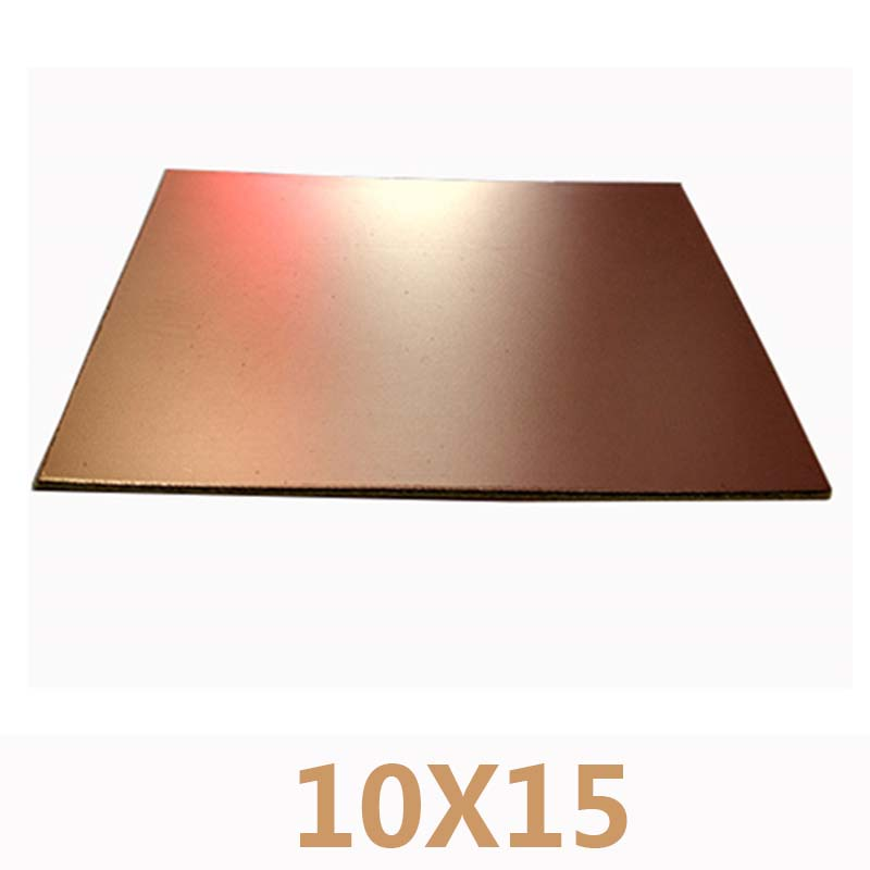 5pcs 10 x 15CM Single-sided PCB CCL fiberglass board FR4 1.5MM thick