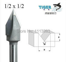 1/2 Shank, V Groove V Router Bit, Woodworking, Size 1/2 x 1/2 велосипед stark router 26 2 v 2017