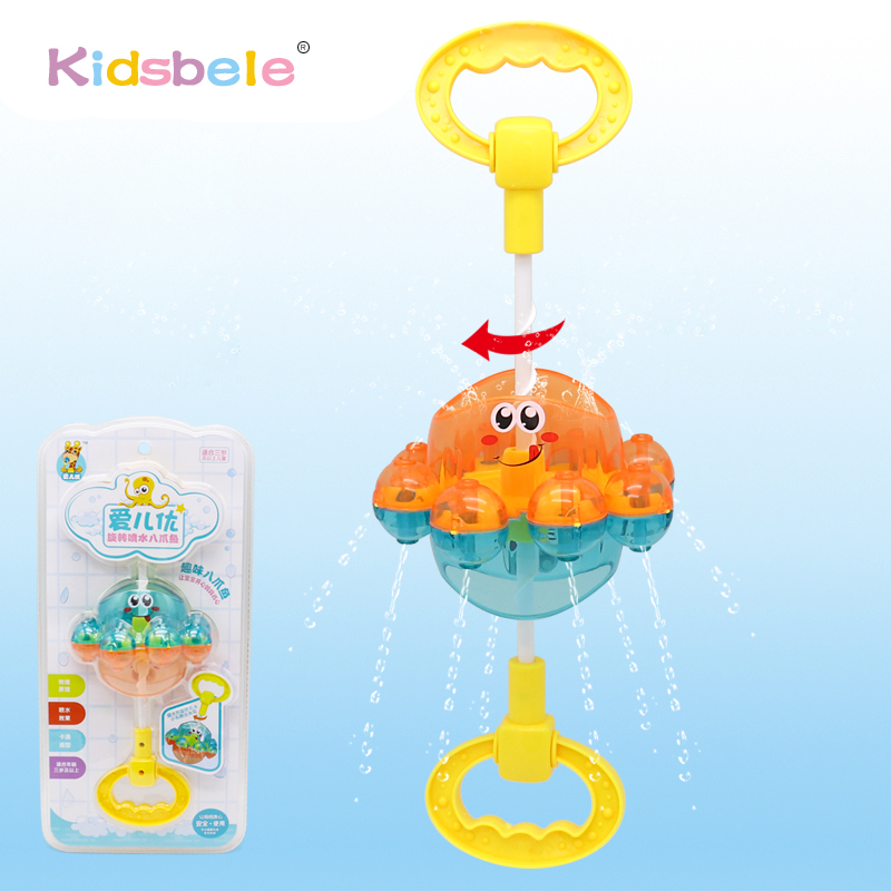 Toys To Water Funny Octopus Shower Faucet Bathroom Water ...