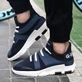 Новая Мода Мужчины Повседневная Y3 Обувь Дышащая Корейский Высокого Верха Обуви для Мужчин Платформа Высота Увеличение Обувь Для Ходьбы Zapatos Hombre
