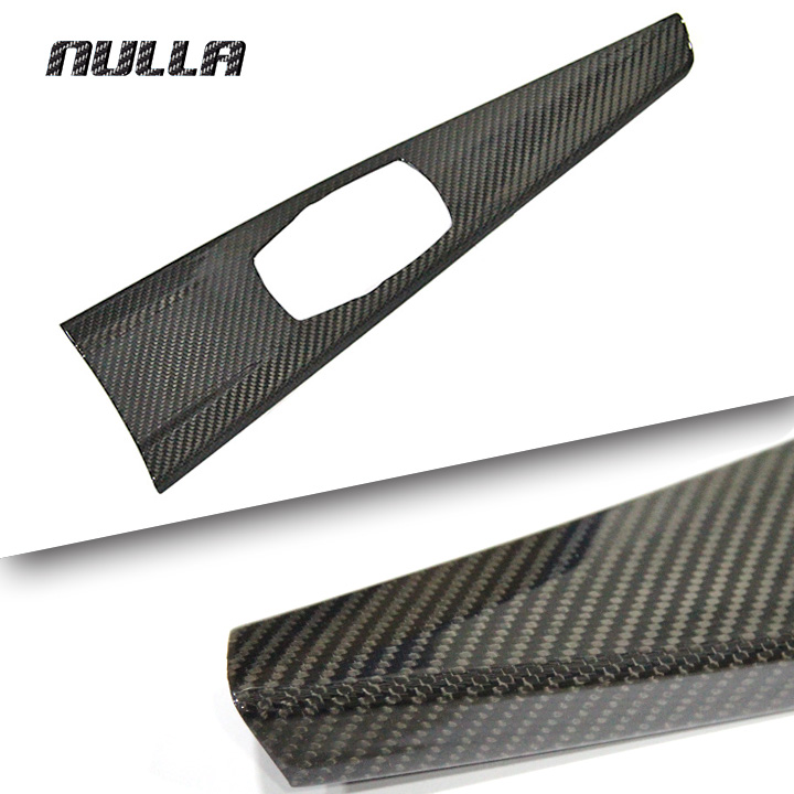 NULLA Carbon Fiber For BMW 3 Series F30 F34 F31 F32 320i 316i 328i 420i 2012 -2016 Interior Multimedia Central Panel Cover LHD фаркоп aragon на bmw serie 3 f30 2012 serie 3 touring f31 2012 e0800iv тип крюка v г в н 1800 75кг e0800iv