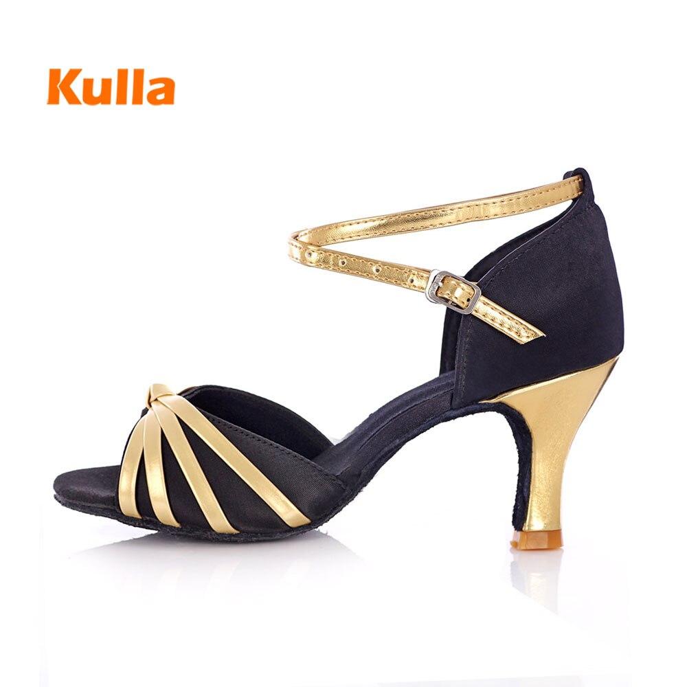 Latin Dance Shoes Womens Tango Ballroom Dancing Shoes Salsa Party Square Dance Shoes High Heel Zapatillas De Baile Latino Mujer