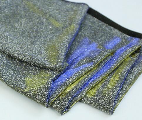 cd1e16689f2 150*100cm Sparkling Glittery Metallic Jersey Stretch Lurex Fabric Material