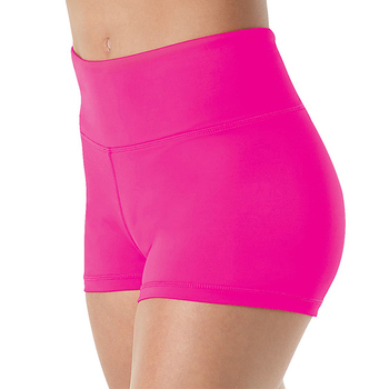 SPEERISE Women Mid Waist Spandex  Shorts For Adults Ballet Performance Dance Bottoms Basic Booty Shorts Fitness Underpants Girls
