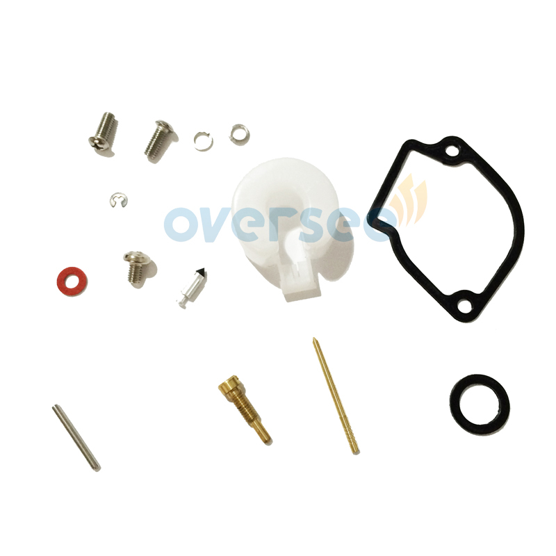 6A1-W0093-00/01/02/03 Carburetor Repair Kit for YAMAHA 2HP Outboard engine boat motor aftermarket parts 6A1-W0093