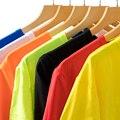 Summer style T-shirt summer Short Sleeved Black White Blue Green Red Yellow Orange t shirt men