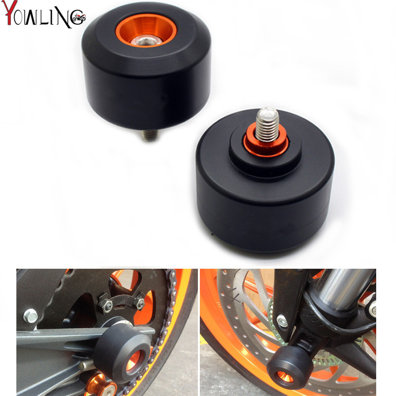 Motorcycle Front & Rear Crash Pad WheeL Frame Sliders &Tank Protector Stickers for KTM DUKE125 DUKE 200 DUKE 390 duke 125 200 39 for ktm 390 duke motorcycle leather pillon rear passenger seat orange color