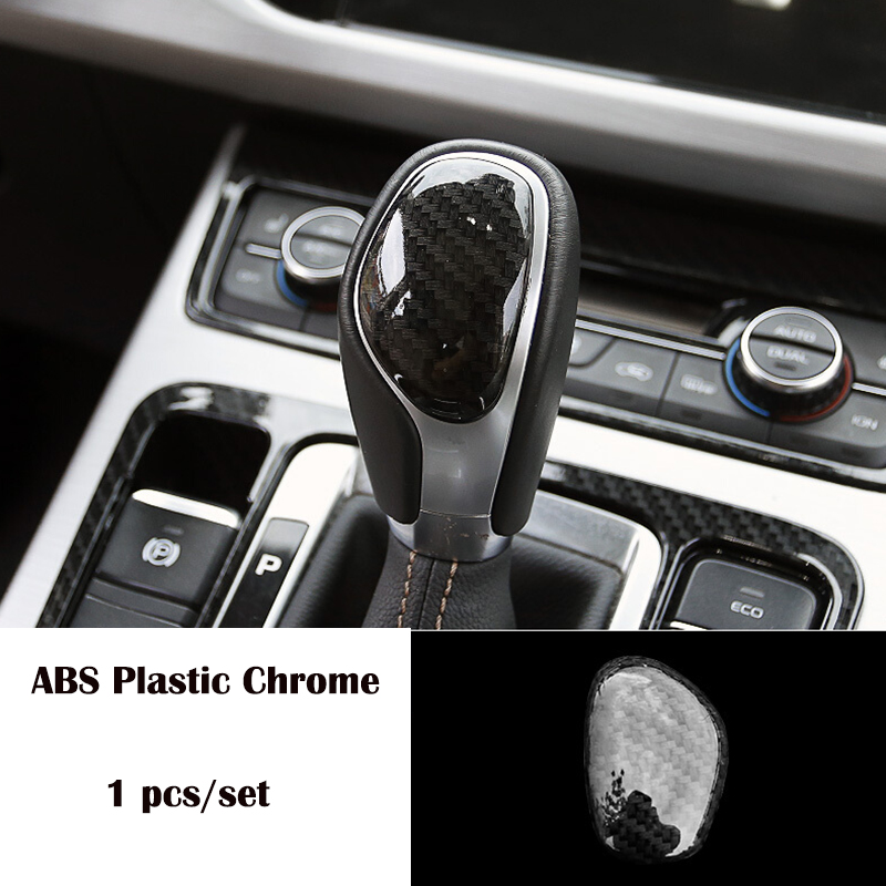For <font><b>Geely</b></font> <font><b>Atlas</b></font> 2016 2017 2018 ABS Plastic Chrome Accessories Car Gear Shift Lever Knob Handle Cover Trim Car Styling image