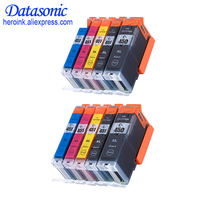 DAT 10PCS For Canon 450 451 PGI-450 CLI-451 Ink Cartridge For Canon PIXMA MG5440/MG5540/MG6340/MG6440/MG7140/Ip7240/MX924