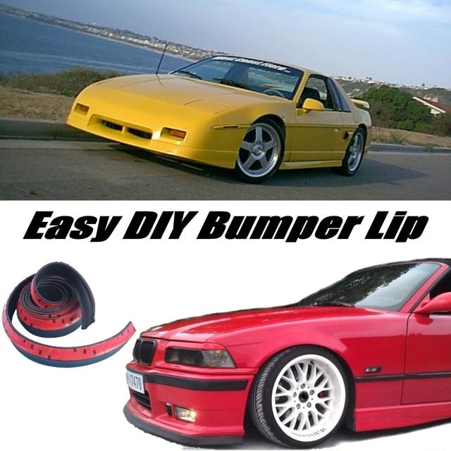 Novovisu Bumper Lip Deflector Lips For Pontiac Fiero Front Spoiler
