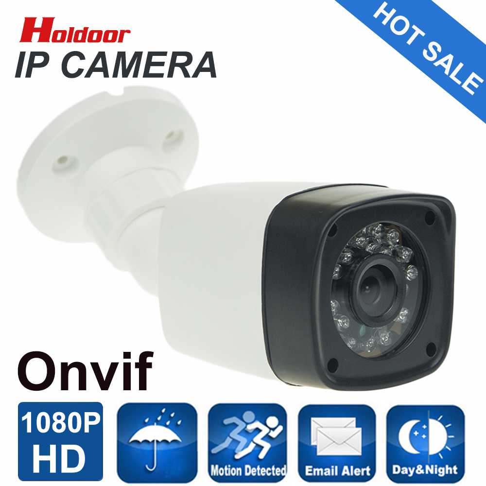 ФОТО IP Camera 1920*1080P 2.0MP Fixed 3.6mm Lens 24pcs leds bullet ONVIF Waterproof Out/indoor IR Night Vision P2P CCTV Camera System