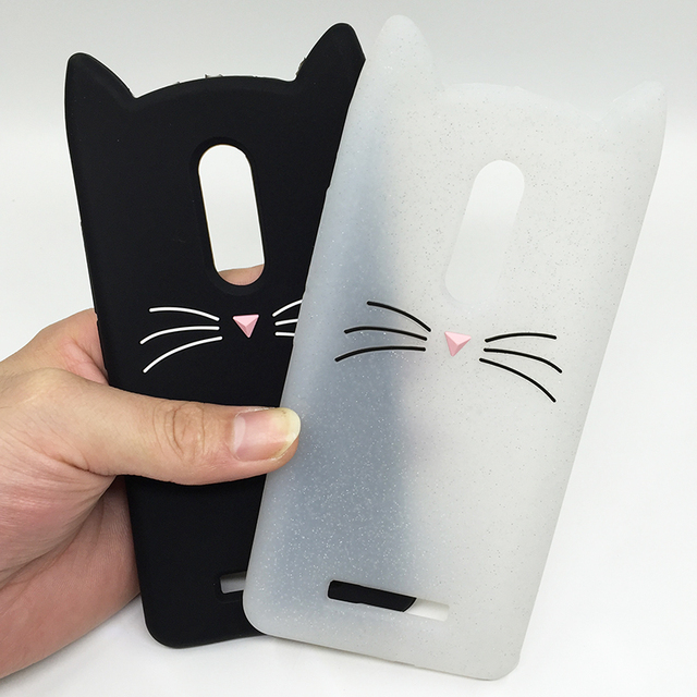 buy online 5958b 59445 US $2.75 18% OFF|3D Cartoon Soft Silicone Case For Xiaomi Mi 6 Mi 5 Redmi  Note 4 4X Black Cat Ears Beard Rubber Cover For Redmi 4A/4X Phone Cases-in  ...