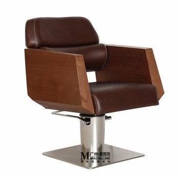 Manufacturers Selling Hairdressing Chair Hall ` High-class European-style Chair ` Cut Haircut Chair ` Hydraulic ` Atmosphere