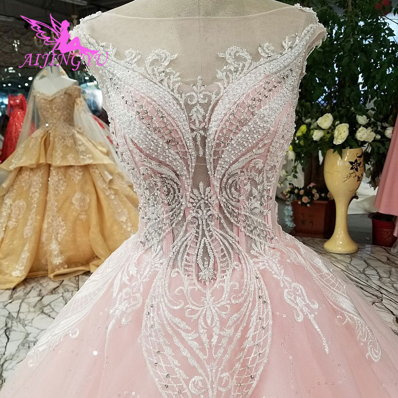 AIJINGYU Wedding Dresses 2018 Big Size Bridal Gowns Affordable Ball New Sexy Gown With Sleeves Online Angel Wedding Dress