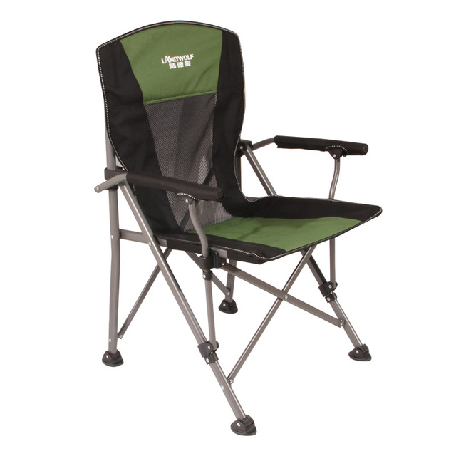 Load-bearing 300 kg Outdoor folding lounge chair Wild camping Fishing/stool Beach chair easy carry for camping 3