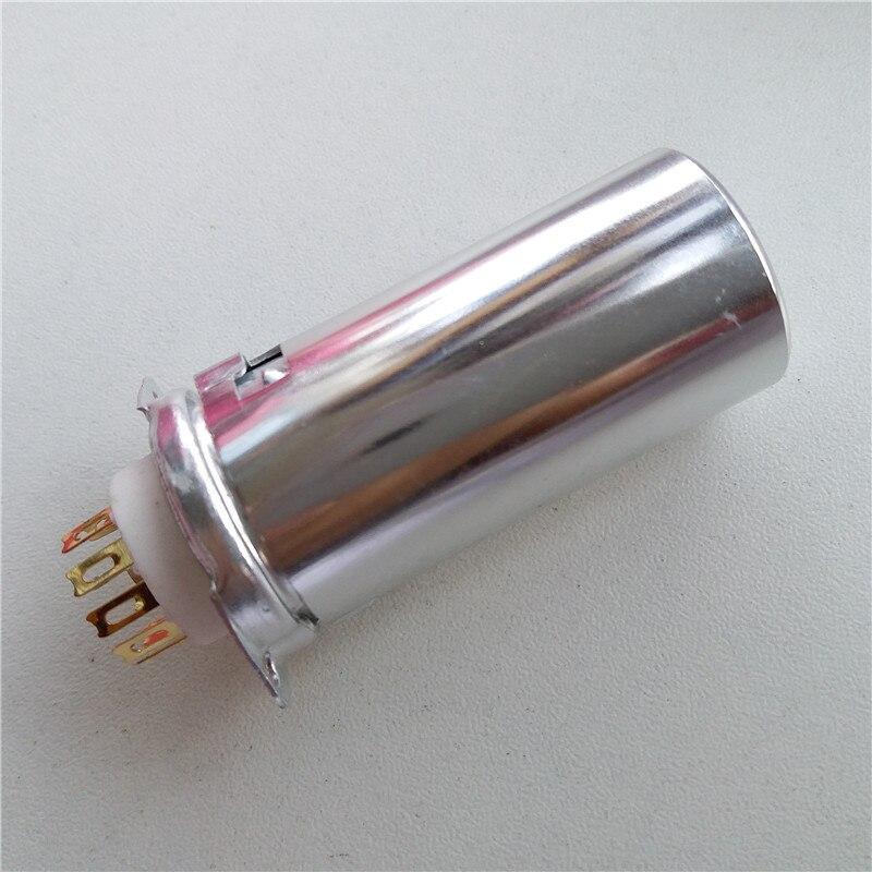 4 pcs prise de tube en céramique basse prise GZC9-F-B-55-G golden foot pour 12AX7 6922 tube amplificateur