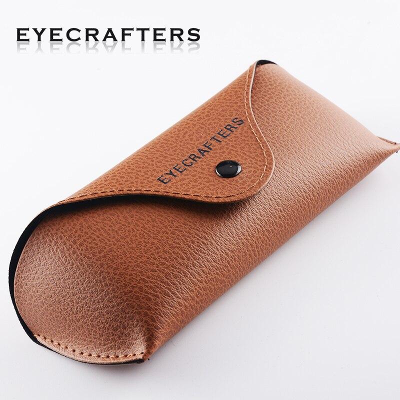Eyecrafter Original PU Leather Brown Sunglasses Case Box