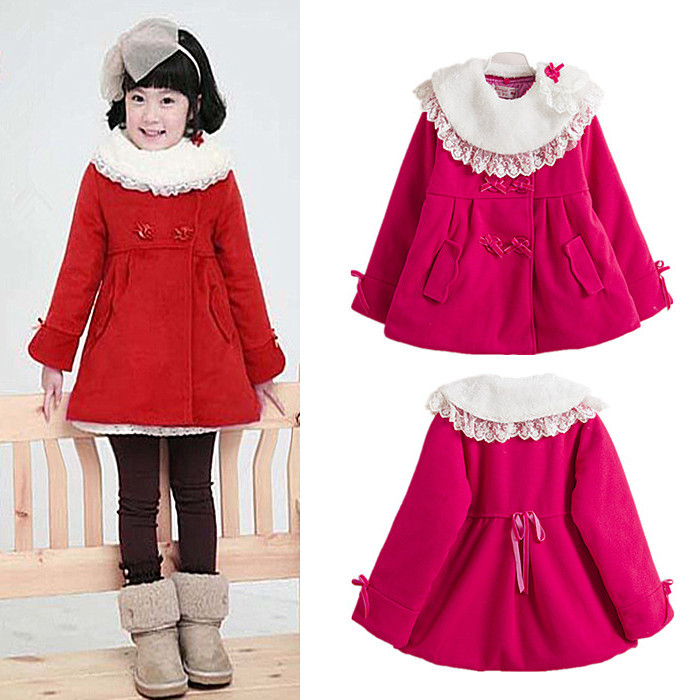 Images of Baby Girl Winter Coats - Reikian
