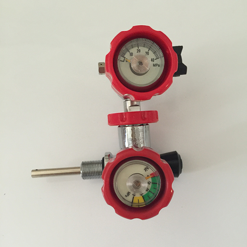 All Kinds of Gas Cylinder Valve with A Filling Station/Compressed Gas Cylinder Valve of Stainless Steel Material-K
