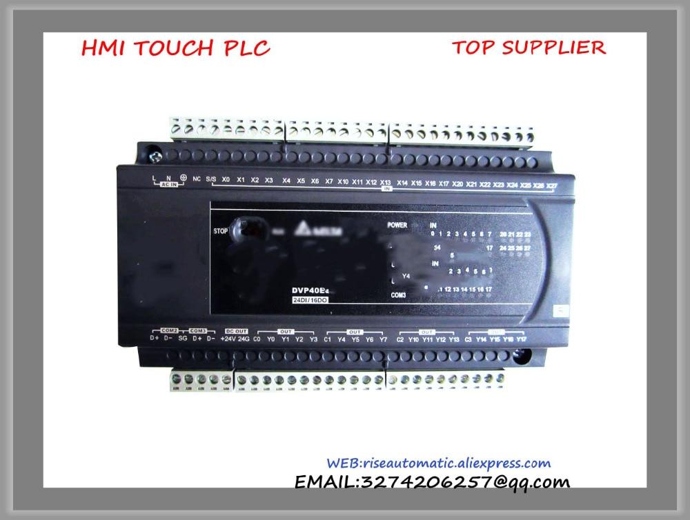 DVP40ES200R Delta New Original PLC ES2 series 100-240VAC 24DI 16DO Relay output dvp32xp200t delta new original plc digital module es2 series 100 240vac 16di 16do transistor output