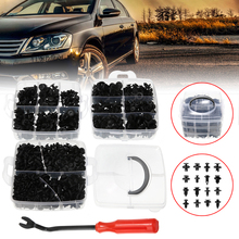 For 5/7/8/9/10/11/13/14mm Hole 620pcs 16 Sizes Mixed Auto Truck Clips Side Skirt Bumper Rivet Fasteners Kit Mayitr