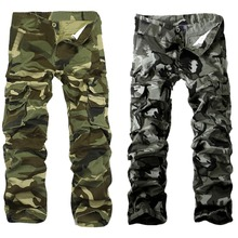 Fashion Pocket Men s Camouflage Pants Casual Thickening Pants Cargo Pants 2 Colors HB88