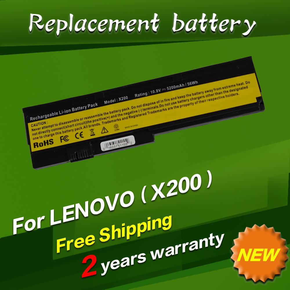 JIGU 5200 mAh Batterie Für LENOVO ThinkPad X200 X201 X200S X201S 42T4834...