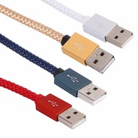 Unique Retro Weave Phone Cables Data Cable Charging Sync Cord Micro USB Cable For Android Smart