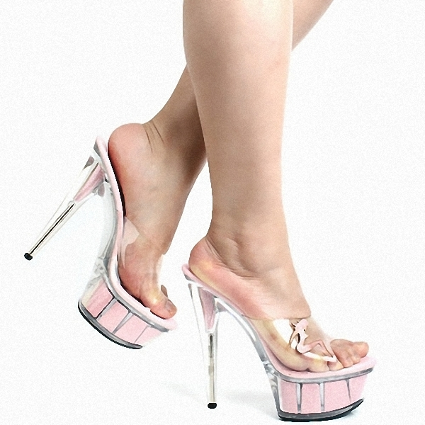 Abierta Femininos Belleza De Decorativa Rushed Plataforma Señoras Ihch Tacones Cm Mujeres Sapatos Zapatillas Negro Las 15 Altos Zapatos Punta tHz1S7XWq