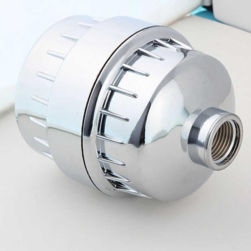 Mini Filtro Purificador de Água para Uso Doméstico Filtro Purificador de Remoção de Cloro In-Line Shower Filtro de Água Para Casa de Banho
