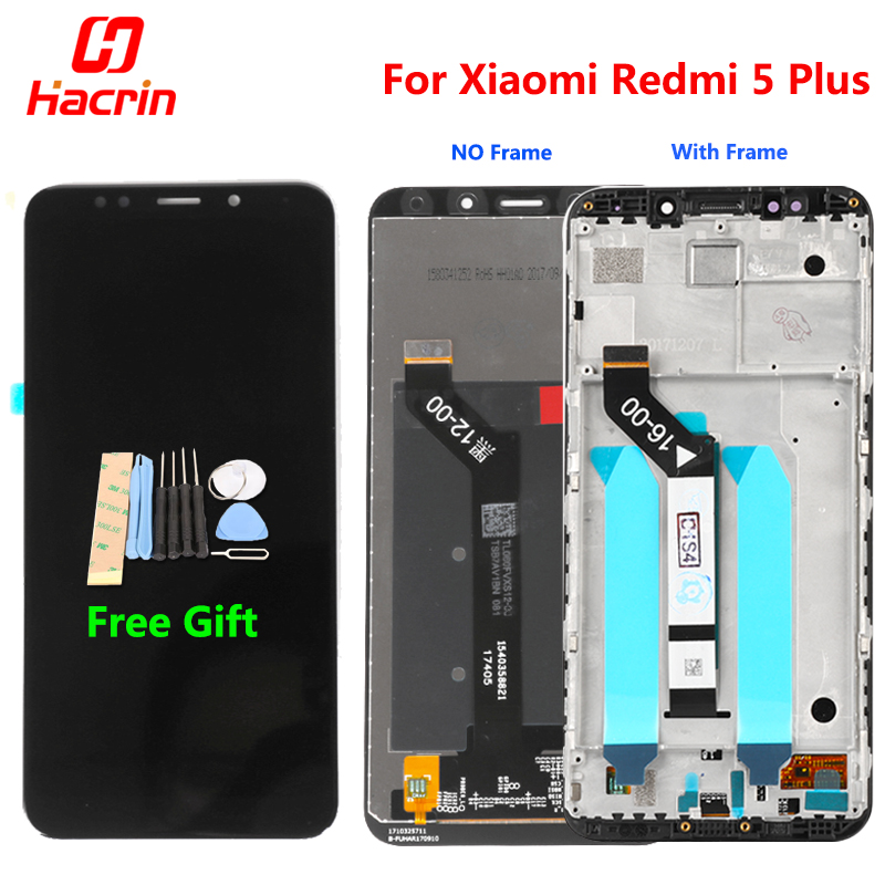 Xiaomi Redmi 5 Plus LCD Display Touch Screen 100% New FHD 5.99