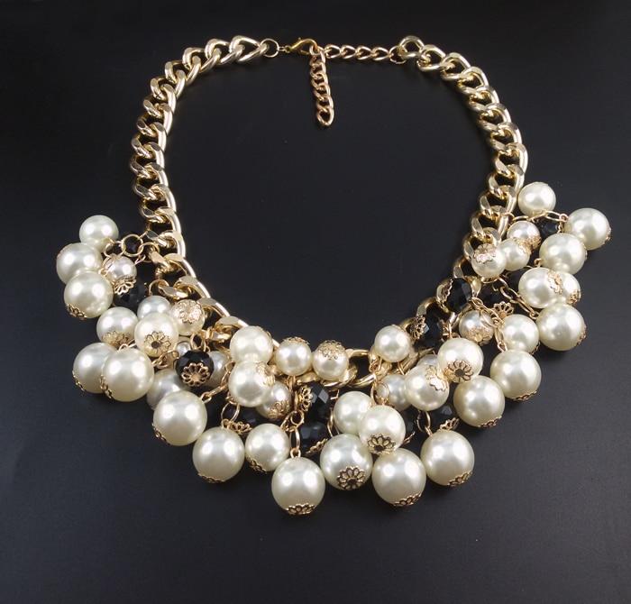 c3a655d2514c 2016 Nueva Moda Multilayer Collar de Perlas Colgante de Accesorios de Las  Mujeres Collar Gargantilla Statemen Chica Colgante De Joyería Del Grano en  ...