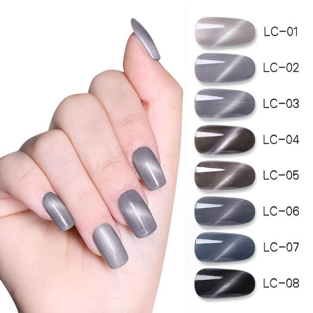 LILYCUTE 8ml Magic Eye Cat Nails Gel